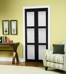 tempered glass closet doors series 4402 3 lite framed bifold door erias home designs