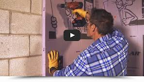 your basement with rigid foam panels