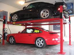 porsche home garage basic home garage liftrack page corvetteforum chevrolet image on
