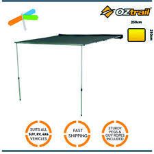 Oztrail Awning Review Oztrail Rv Shade Awning Tent 2 5m Only Ebay