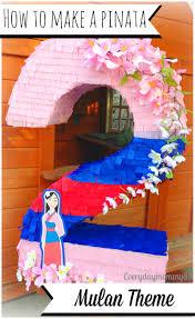 themed pinata diy make your own pinata mulan themed your own pinata