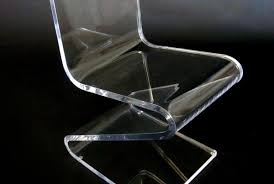 Lucite Rocking Chair Seating Modern Acrylic Furniture By Aaron R Thomas