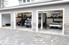 Cool Garage Storage Even Room For The Truck In This Supergarage Cool Garages