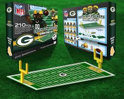 green bay packers nfl oyo figure and field team game time set green bay packers nfl oyo figure and field team game time set walmart com