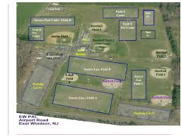 Baseball Map Spring Field Map 2017 East Windsor Police Athletic League