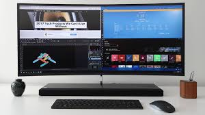 Desk Top Computer Reviews Hp Envy Curved All In One Windows 10 Desktop Computer Review 2017
