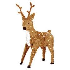 25 unique outdoor reindeer decorations ideas on