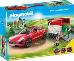 Playmobil 9376 4008789093769 Porsche Macan Gts Mit Pferdeanhänger