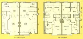 Ghana House Plans Ohenewaa House Semi Detached House Plans Home Design