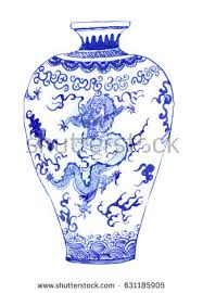 Hand Painted Chinese Vase Chinese Vase Stock Images Royalty Free Images U0026 Vectors