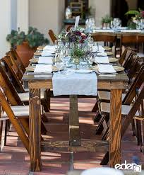 san diego farm table rentals cedar and pine events