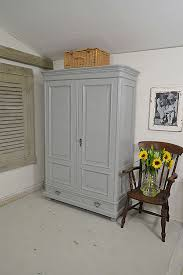 large dutch shabby chic rustic wardrobe bedroom storage the