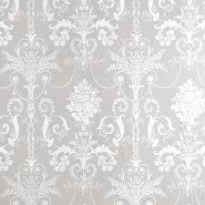 josette white dove grey damask wallpaper at laura ashley needs
