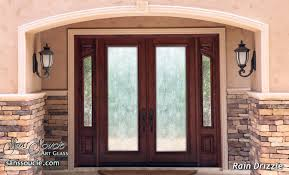 Glass Door Etching Designs by Rain Drizzle 3d Etched Glass Door Contemporary Design Glass