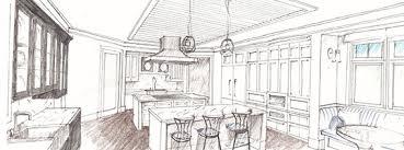 interior design sketch interior design process mitchell wall