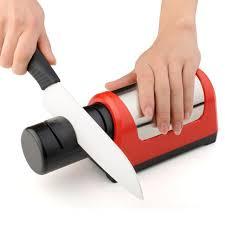 sharpening ceramic kitchen knives professional kitchen electric knife sharpener honer 2 stage