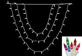 amazon com vickerman multicolored swag mini christmas lights with
