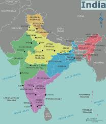 India On A Map Asia India By Rebecca Freeman Thinglink