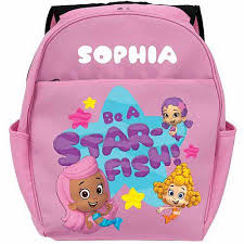 personalized bubble guppies guppy girls toddlers u0027 pink backpack