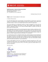 mcgill letter of recommendation sylvie leduc