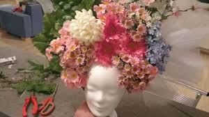 floral headdress flower headdress tutorial kopfschmuck tutorial diy