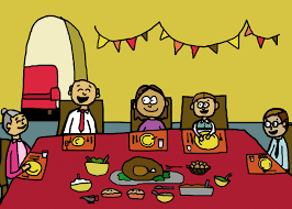 hipster thanksgiving thanksgiving dinner illustration free stock photo public domain