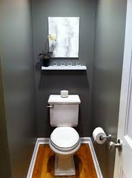 bathroom toilet ideas modern minimalist half bath decorating ideas with small shelves in