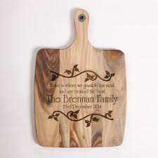 engraved wooden gifts laser engraved wood chopping board wedding gift personalised