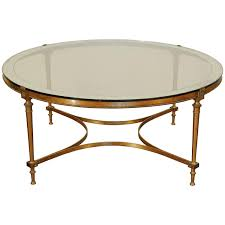 coffee table amazing vintage brass and glass coffee table square