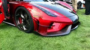 koenigsegg regera debuts new aero package at pebble beach