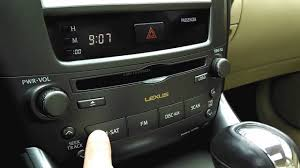 2007 lexus is250 touch up paint 2008 lexus is250 audio system in depth demo youtube