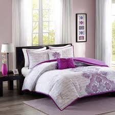 Twin White Comforter Purple And Grey Bedding Medium Size Of And Gray Twin Bedding
