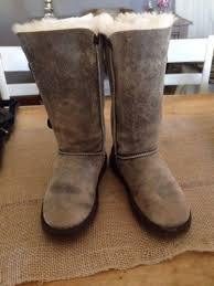 womens ugg bomber boots ugg the knee bailey button bomber jacket chocolate boot us 11