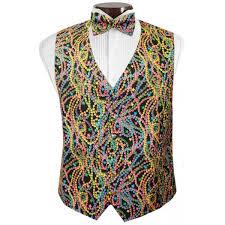 mardi gras tie big easy mardi gras vest and tie