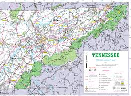 Tennessee Highway Map by Map Of Eastern Tennessee Afputra Com