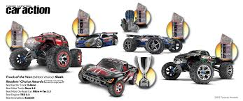 best nitro rc monster truck traxxas receives record number of magazine awards for u002709 u2013 team