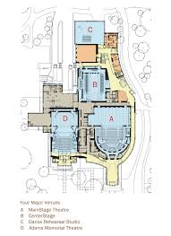 Dance Studio Floor Plan 100 Theatre Floor Plan The Mahaffey Seating Charts Theater