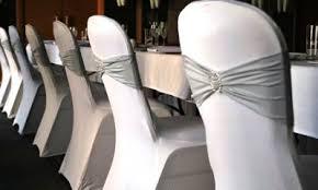 housse de chaises mariage noeuds pour housses de chaises fee de l effet