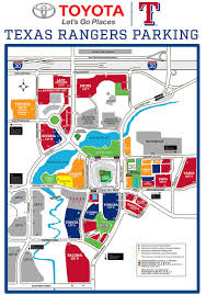 Dallas Cowboys Stadium Map by Globe Life Park In Arlington A Guide To Attending A Texas Rangers