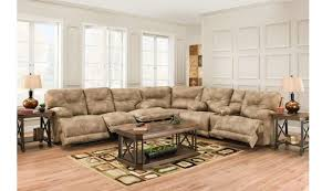 reclining sectional sofa multiple recliners