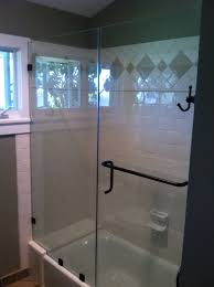 tub with glass shower door shower doors san diego u0026 sliding door repair new install u0026 repairs