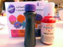 bright and modern purple food coloring how to make the color