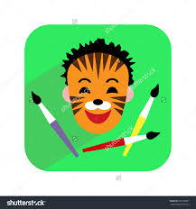 face painting clip art many interesting cliparts