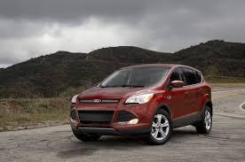 Ford Escape Ecoboost Mpg - 2014 ford escape se 1 6 ecoboost first test