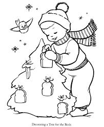 printable christmas tree coloring pages kids printable 2017