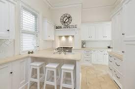 cuisine et beige cuisine blanche sous le feu des projecteurs en 55 idées
