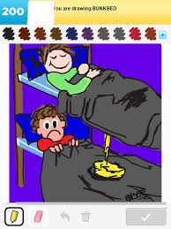 Cartoon Bunk Bed by Click Here To See Bunkbed My Best Of Draw Something