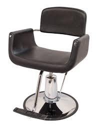 Reclining Salon Chairs All Purpose Styling Chair Brown Salon Chairs Hair Salon Furniture