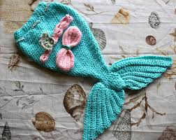 Infant Mermaid Halloween Costume Crochet Mermaid Tail Etsy