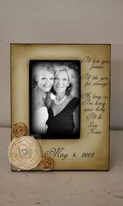 Mother Daughter Keepsakes Mother Daughter Wedding Frame Bride Keepsake Personalize Picture